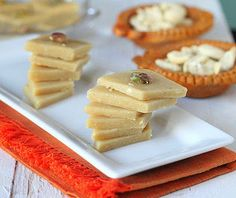 Vegan Richa: Kaju Katli! Indian Cashew fudge. vegan, glutenfree