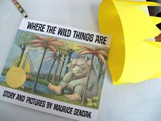 "A great ""Where the Wild Things Are"" craft and/or lesson plan for pre-schoolers and kindergarteners, or families with little ones to honor Mr. Sendak's life."