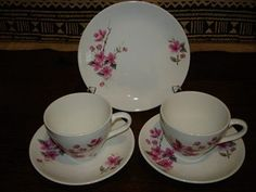 Kelston Potteries By Crown Lynn for sale on Trade Me, New Zealand's auction and classifieds website Vintage Velvet, Cup And Saucer, Tea Cups, Porcelain, Pottery, Crown, Dishes, Tableware, How To Make