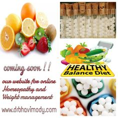 Online Homeopathy and Weight management.