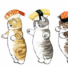 Fluffy Kittens, Cute Cats And Kittens, Anime Animals, Cute Animals, Cute Images, Cute Pictures, Easy Doodles Drawings, Snoopy Pictures, Cute Animal Drawings Kawaii