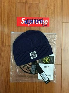 d27316fb Stone Island Knit Winter Beanie Hat in Navy FREE SIZE #fashion #clothing  #shoes