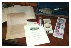 The site's collections include thousands of letters, receipts, personal and political memorabilia related to Governor Pennypacker and his family.