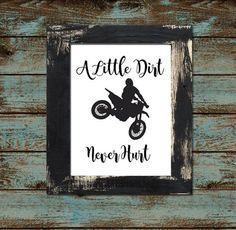 Baby or Toddler Motocross Dirtbike Nursery by KariDonellDesigns