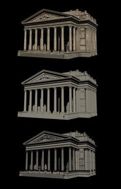 The Order 1886 : Model Breakdowns, Patrick Stone on ArtStation at https://www.artstation.com/artwork/the-order-1886-model-breakdowns