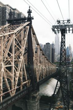 Can't help but hum Simon & Garfunkel going over the 59th Street Bridge.