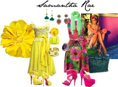 """floral"" by samantha-edlin on Polyvore"