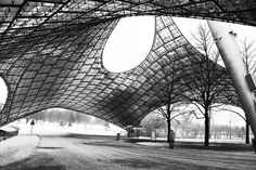 parque olimpico de munique - Frei Otto by José Calijuri Hamra, via Flickr