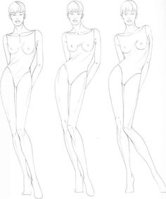 how to draw fashion figures - Google Search