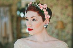 Breathtaking vintage bridal beauty!{Xtabay Vintage Bridal Salon}