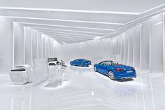 Audi appearance at the CES 2015idea & design: tisch13architecture: Bathke Geisel Architekten