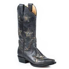 Stetson Women's Star Snip Toe Western Boots