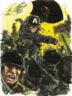 Tom Fowler: Captain America