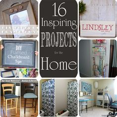 16 Inspiring Projects for the Home