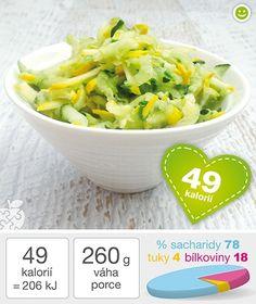 Okurkovo-cuketový salát - DIETA.CZ Potato Salad, Cabbage, Potatoes, Vegetables, Ethnic Recipes, Foods, Food Food, Food Items, Potato