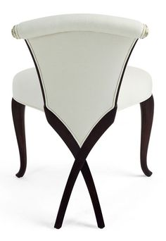 A favorite chair by Christopher Guy www.tablescapesbydesign.com https://www.facebook.com/pages/Tablescapes-By-Design/129811416695