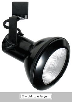 "Line Voltage PAR30 Classic with Cover   Adjustable Lamp Holder    Use with single or two circuit track & accessories  Lamp: 75W PAR30    Dimension: L X W:4 7/8"" x 4 3/8""  Regular price: $39.99  Sale price: $22.50"
