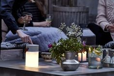 Like your BFF, aGlow lights up a warm summer's night