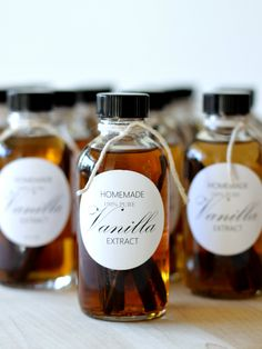 homework: creative inspiration for home and life: GOOD TASTE: Homemade Vanilla Extract & Free Printable Labels