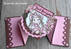 Ricordi di Carta-Diamond fold card