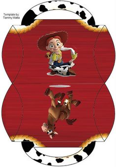 Jesse of Toy Story: Free Printable Boxes. | Oh My Fiesta! in english