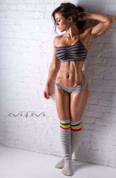 I want to look like this. Damn my laziness.