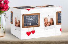 Papel de regalo personalizado para enamorados