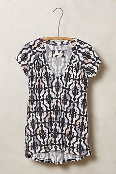 Animalia Tee - anthropologie.com - LOVE the dogs and the horses
