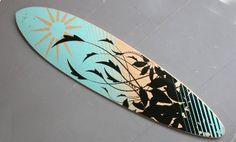 Transistor design : graphic design, Émilie Ste-Croix , Longboard design