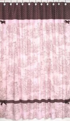 14 Best Pink Shower Curtains Images Black Shower Curtains Pink