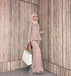 Latest Baju Kurung : I think i just blended in with the wall? Thank you # Latest Baju Kurung : I think i just blended in with the wall? Thank you # Kebaya Modern Hijab, Model Kebaya Modern, Kebaya Hijab, Kebaya Dress, Kebaya Muslim, Dress Brokat, Hijab Prom Dress, Hijab Gown, Hijab Evening Dress