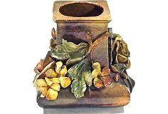 Antique French Majolica Vase on OneKingsLane.com