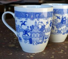 No matter how bad your day is going, these beautiful porcelain mugs graciously remind you things could be much worse.