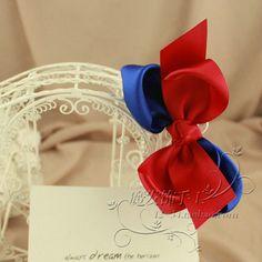 手工原创日系韩国版蝴蝶结学院海军英伦风发卡发夹胸针发圈套装特-淘宝网