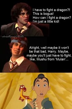 A mashup of two of my favorites... Mulan and A Very Potter Musical!!