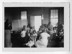 Photograph of African American students in a classroom, Habersham County, Georgia, 1953. Digital Library of Georgia.