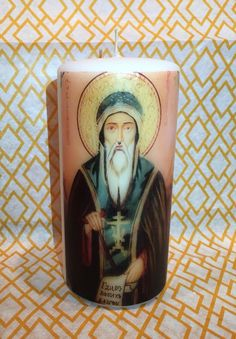A personal favorite from my Etsy shop https://www.etsy.com/listing/265311995/st-john-antique-icon-hand-decorated