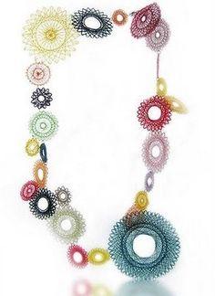 Spirograph Necklace amazing fun weird cool SPIRO2 20090724125414209