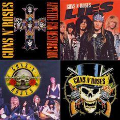 Guns N Roses arte piedra montaña Set azulejo por allisonestgoods