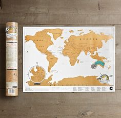 Mini Scratch Map - document your kid's travels for years to come by scratching off the map with a coin Vintage Decor, Retro Vintage, Kids Stockings, Off The Map, Scratch Off, Wall Maps, Novelty Print, Last Minute Gifts, Wedding Anniversary Gifts