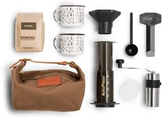 'Rambler' Travel Coffee Set | Stumptown Roasters