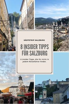 Hier erfahrt ihr meine 8 Insider-Tipps, mein… Salzburg is always worth a trip. Here you can read my 8 insider tips, my very own favorite places, which you will not find in every guidebook. Europe Destinations, Europe Travel Guide, Packing List For Travel, Travel Guides, Koh Lanta Thailand, Travel General, Les Continents, Salzburg Austria, Reisen In Europa