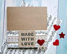 #partitura #etiquetas #corazones #glitter #packaging #madewithlove www.thecraftcakemamashop.com