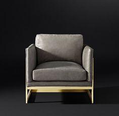 Milo Baughman Model #3426, 1968 Leather Chair
