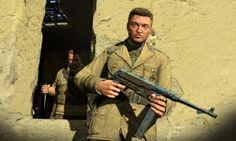 Charlie Brooker Sniper Elite 3