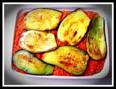 Paradicsomos-padlizsános bulgur Zucchini, Wellness, Vegetables, Food, Bulgur, Summer Squash, Veggies, Essen, Veggie Food