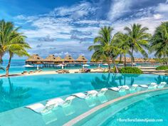 Conrad Bora Bora Nui - Bora Bora's newest resort. Is this also Bora Bora'sbest resort? Bora Bora Resorts, Wish I Was There, Beautiful Islands, My Happy Place, Four Seasons, Dream Vacations, Trips, World, Places