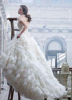 Lazaro Bridal Gowns, Wedding Dresses