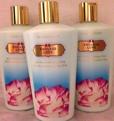 Bath And Body: 3 Victorias Secret Hydration Body Lotion Endless Love Apple Blossom And Ylang -> BUY IT NOW ONLY: $35.99 on eBay!