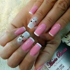 Candy Paint, Easter Nails, Manicure Y Pedicure, Long Nails, Cute Nails, Nail Art Designs, Daisy, Glitter, Spring